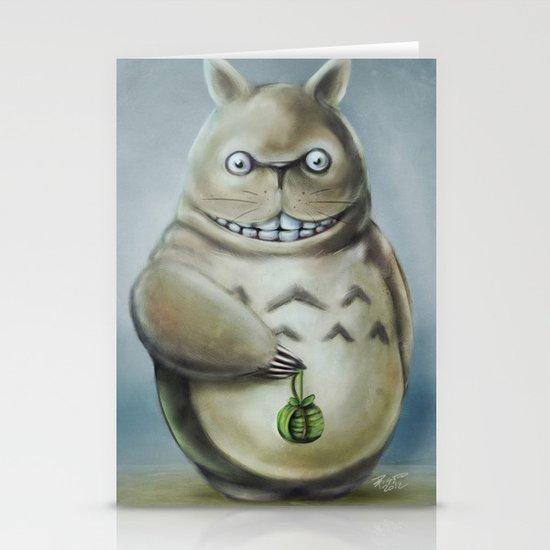 Miyazaki's Totoro - Totoros communis domestica Stationery Cards