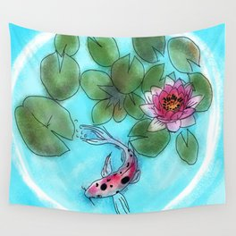 koi bubble #3 Wall Tapestry