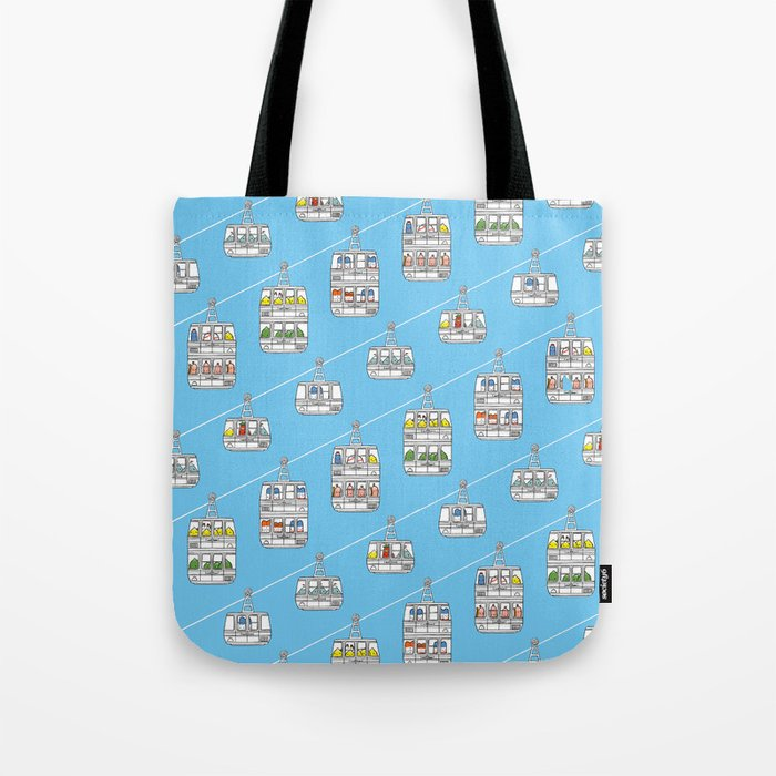"""Pop and Pals: UP, UP, UP! ""  Tote Bag"