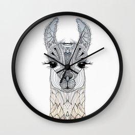 BABY LAMA (CRIA) Wall Clock