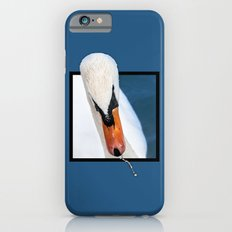 Swan with 3D pop out of frame effect Slim Case iPhone 6s