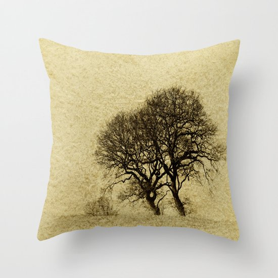 Just Trees Throw Pillow