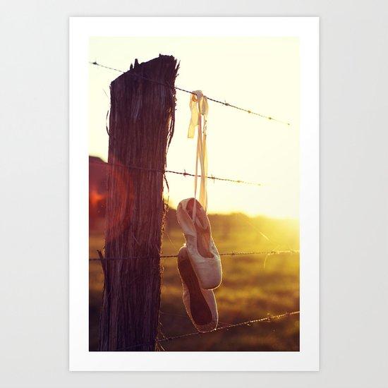 Country Ballet Art Print