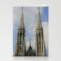 vienna Stationery Cards featuring Vienna by Kim Ramage