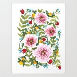 Spring Floral Art Print