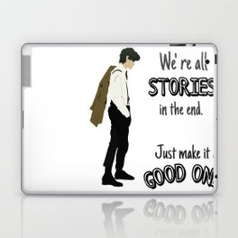 Doctor- Stories Laptop & iPad Skin