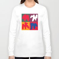 matisse Long Sleeve T-shirts featuring M for Matisse by CHOCOLORS