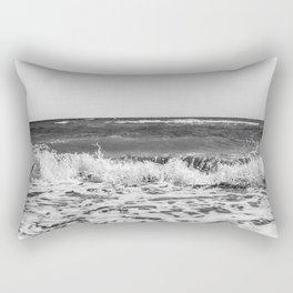 BEACH DAYS XXI BW Rectangular Pillow