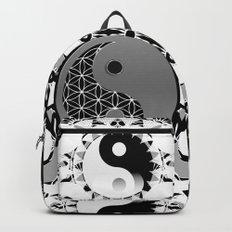 YinYang Sacred Geometry Totem Backpacks
