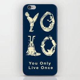 YOLO iPhone Skin