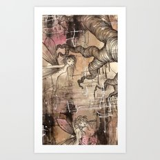 Just how deep do you believe Art Print