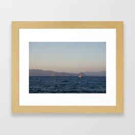 Sailing to Turkey Framed Art Print