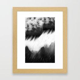 ShadowMountain Framed Art Print