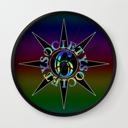 soc6 stars (inv) Wall Clock