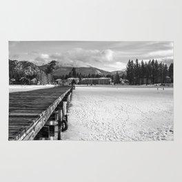 White Tahoe Rug