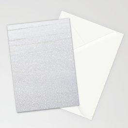 Snow Glitter Stationery Cards