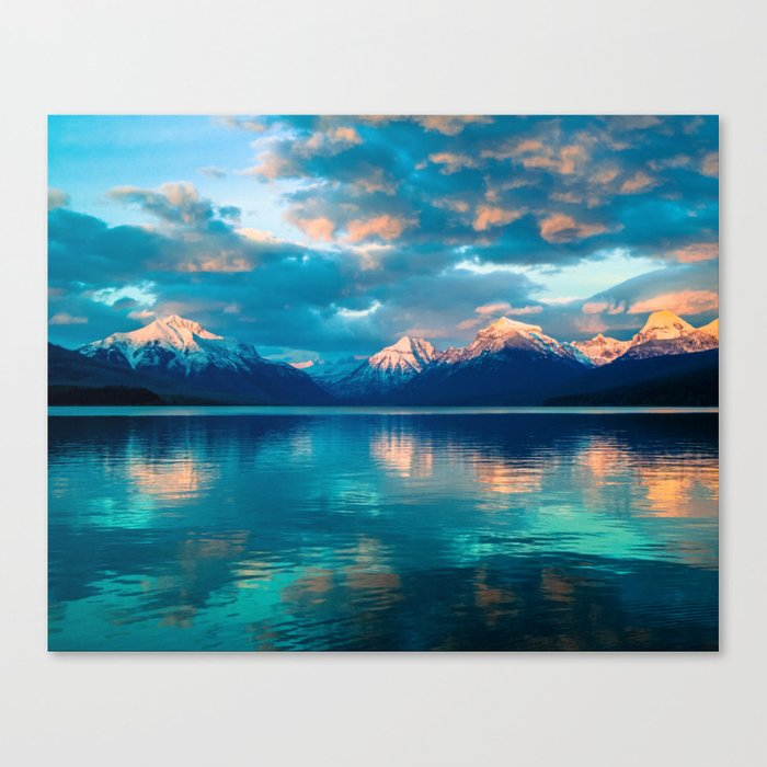 The Wandering Mountain Canvas Print