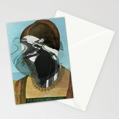 White Nose Woman 2 Stationery Cards