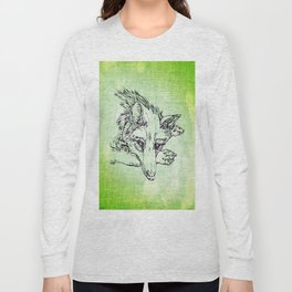NV: Keer: green Long Sleeve T-shirt