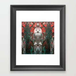The Owls are Beautiful Framed Art Print