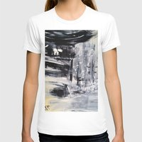 singapore T-shirts featuring Singapore I by Kasia Pawlak