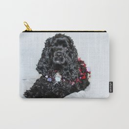 Valentine Puppy Photography Print Carry-All Pouch
