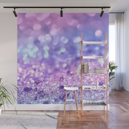 Summer Unicorn Girls Glitter #2 #shiny #pastel #decor #art #society6 Wall Mural