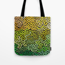 Green Worms Tote Bag