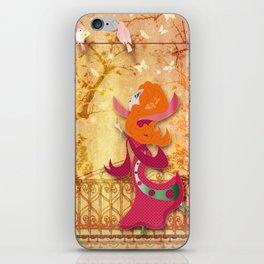 Flore iPhone Skin