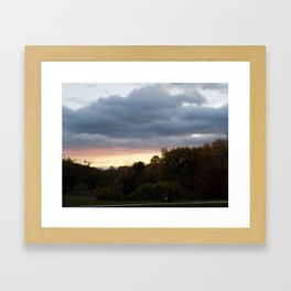 Light Prestorm Framed Art Print