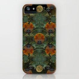 """Glass candy Mosaic (caramel pattern)"" iPhone Case"
