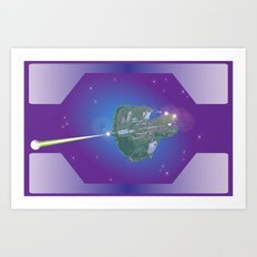 Unidentified Ship 1 Art Print