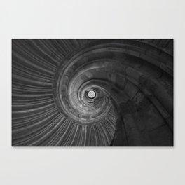 Sand stone spiral staircase 001 Canvas Print