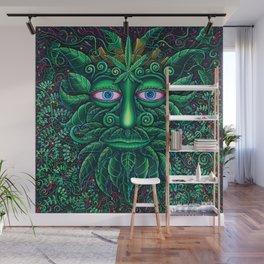 Green Man Wall Mural
