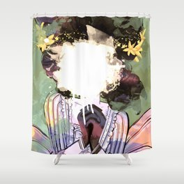 The Fall Of The Fairest Shower Curtain