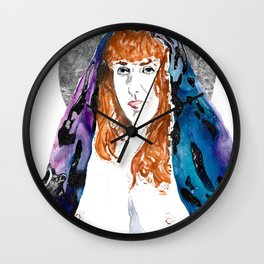 Queen Sof The Universe Wall Clock