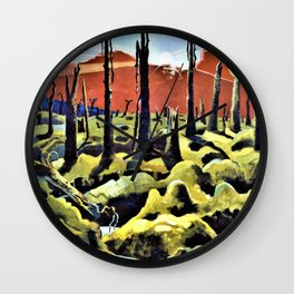 Paul Nash - We are making a new World - Digital Remastered Edition Wall Clock