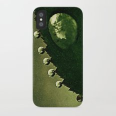 Leaf Drops Slim Case iPhone X