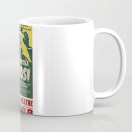 Dracula, Bela Lugosi, vintage poster Coffee Mug