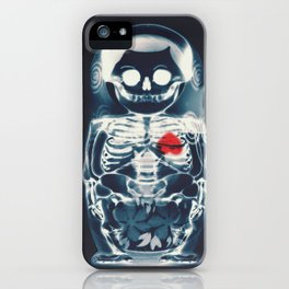 Nesting Doll X-Ray iPhone Case