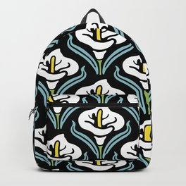 Calla Lily Pattern Backpack