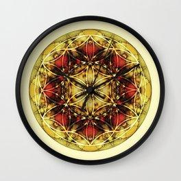 Sacred Geometry Mandalas 4 Wall Clock