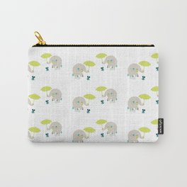 Rain Pattern Carry-All Pouch