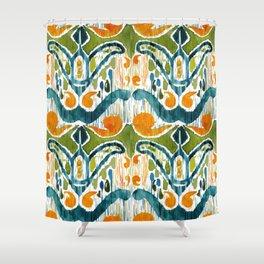 Balinese Pattern 22 Shower Curtain