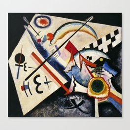 Wassily Kandinsky - White Cross Canvas Print