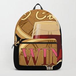 It's Wine O'Clock Backpack