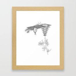 Freudian Slip Framed Art Print
