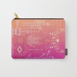 Santa Fe Garden – Pink Sunset Carry-All Pouch