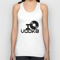 vodka Tank Tops featuring LOVE VODKA by Giovanni Potenza