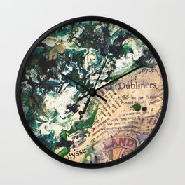 Irish Colours Wall Clock